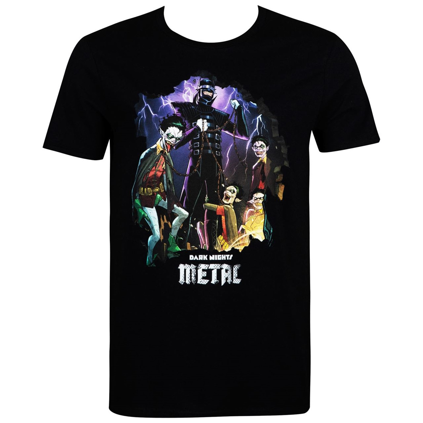 Batman Dark Nights Metal Men's T-Shirt