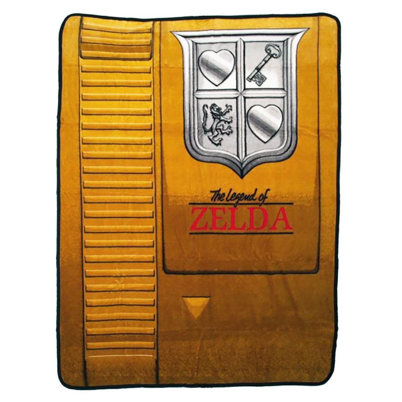 Nintendo Gold Cartridge 48 x 60 in. Digital Fleece Throw