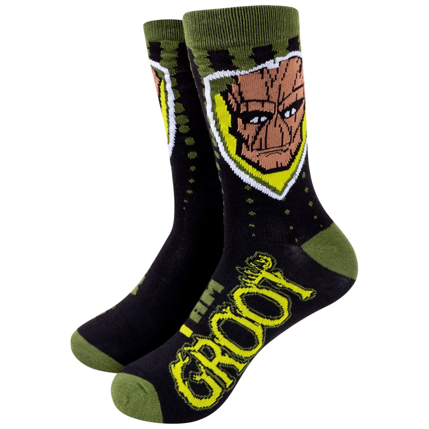 Guardians of the Galaxy Rocket And Groot Crew Socks Two Pack