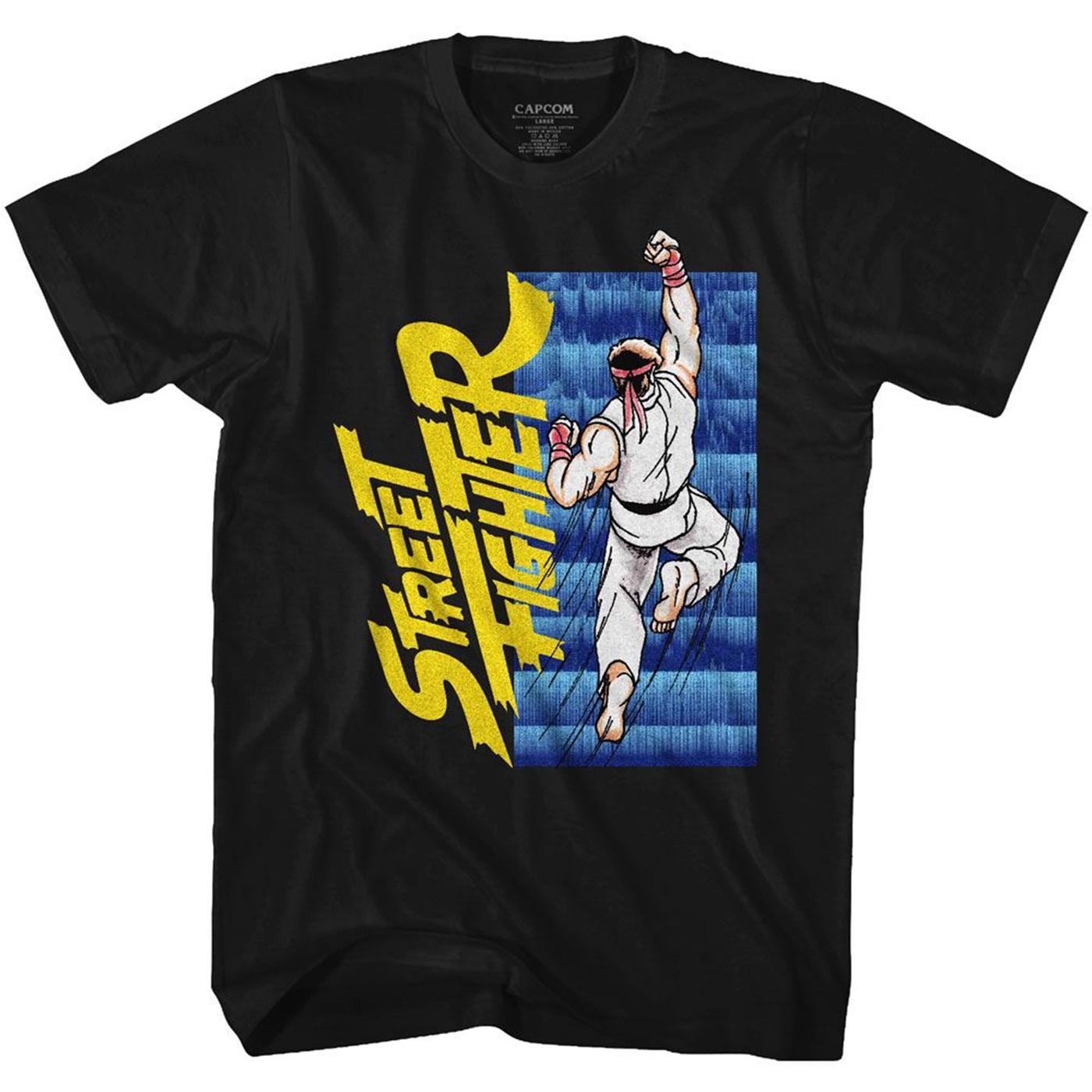 Street Fighter Ryu Uppercut T-Shirt
