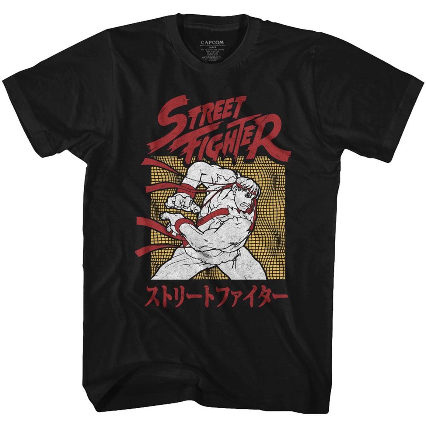 Street Fighter Ryu Hadouken T-Shirt