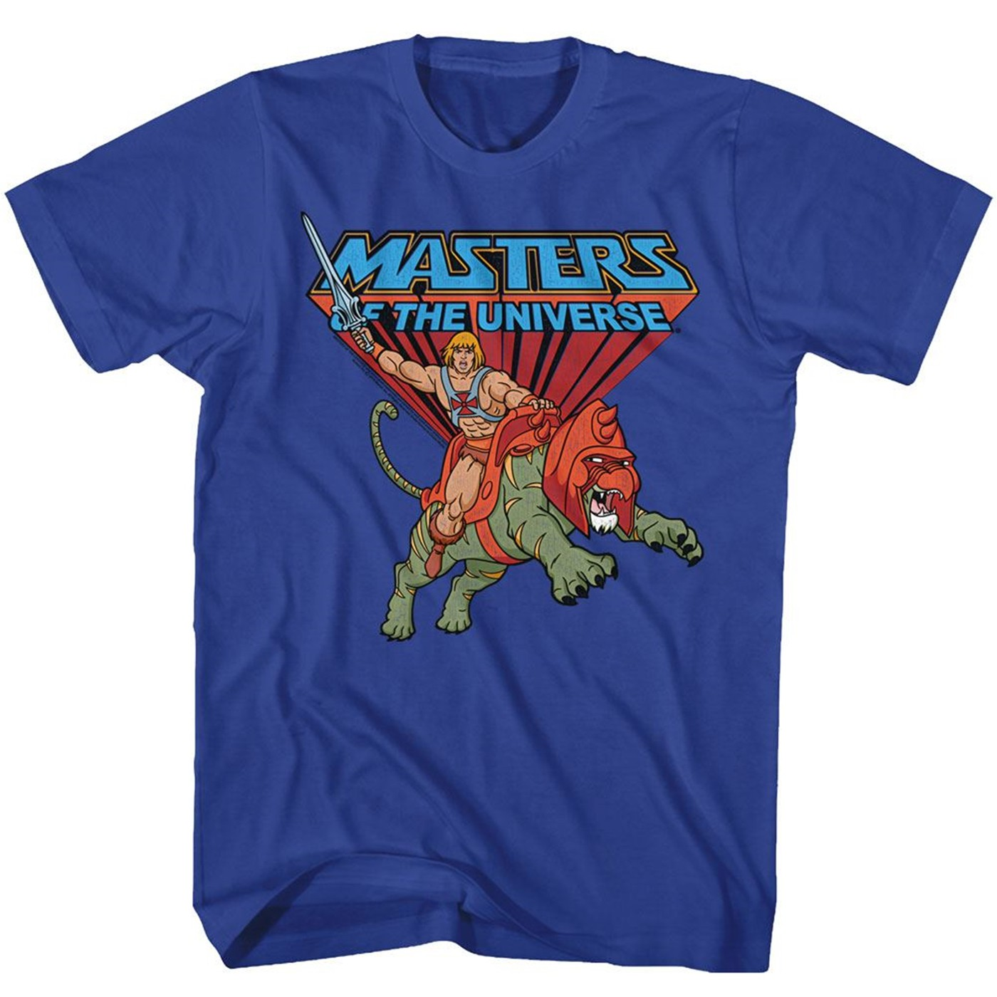 Masters of the Universe He-Man Ride Into Battle T-Shirt
