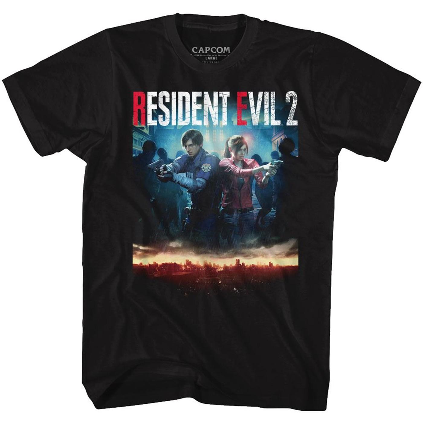 Resident Evil 2 Remake Cover T-Shirt