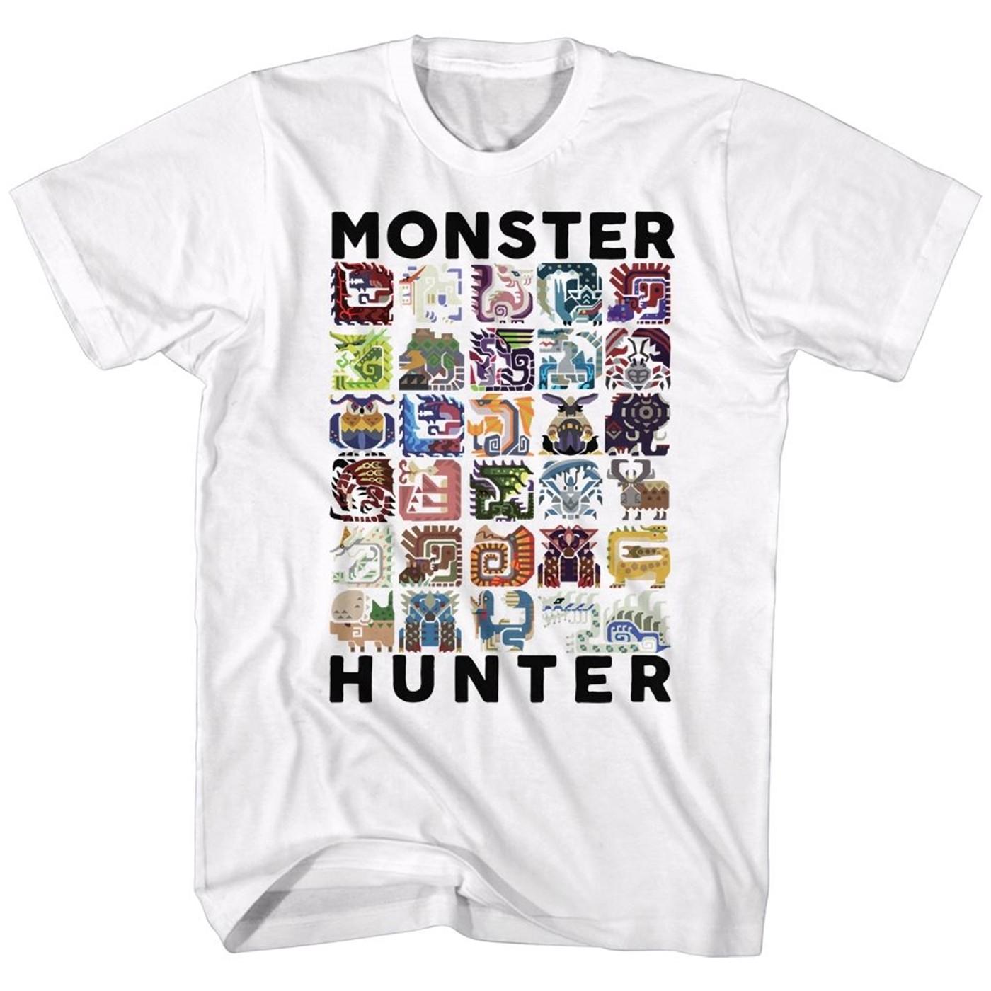 Monster Hunter Icons T-Shirt