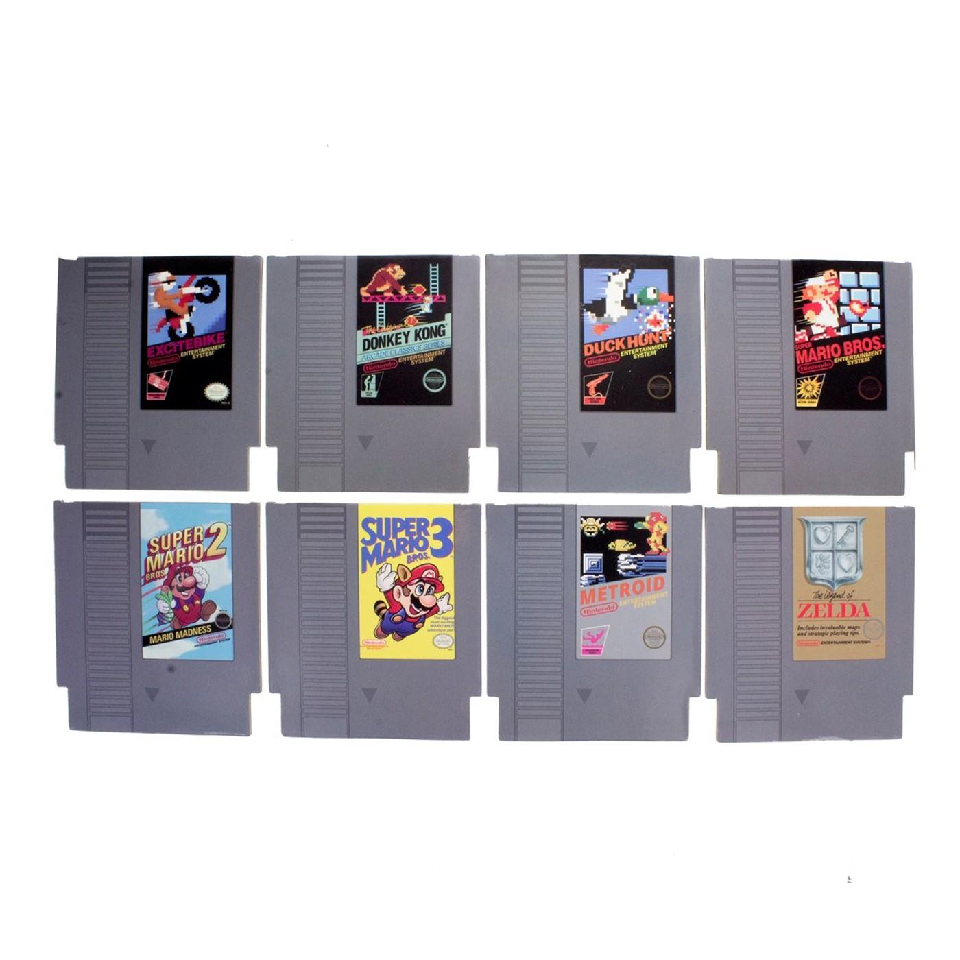 NES Cartridge Coasters