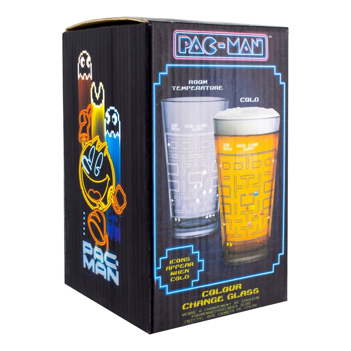 Pac-Man Color Change Glass