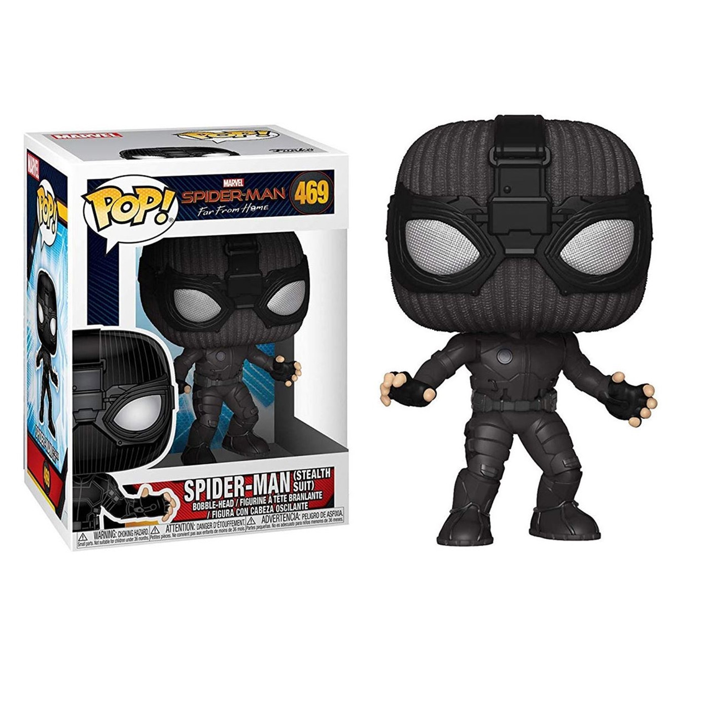 Pop! Spider-Man: Far From Home - Spider-Man (Stealth Suit)