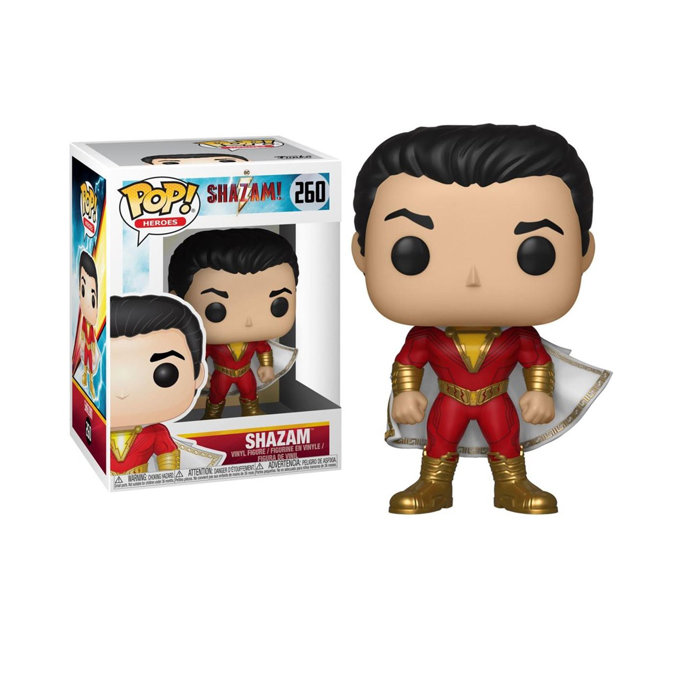 Pop! Heroes: Shazam - Shazam