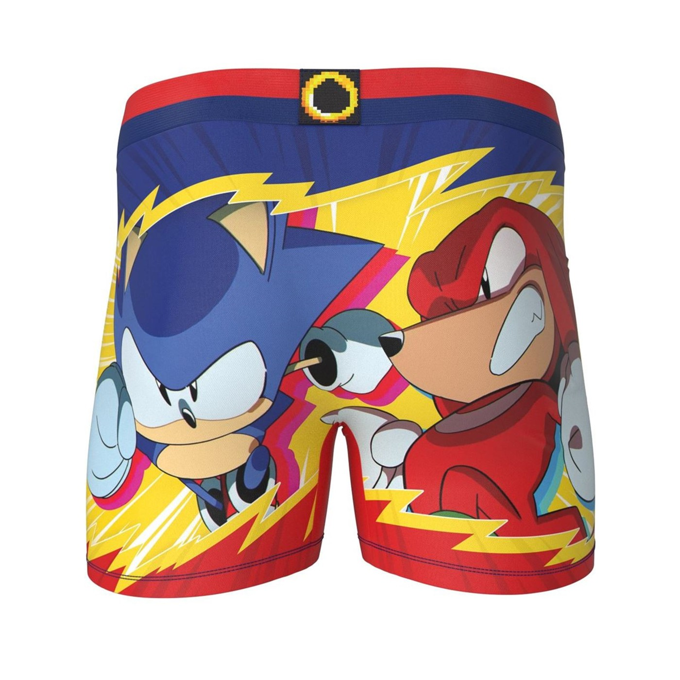 Sonic the Hedgehog and Knuckles Men's Underwear Boxer Briefs