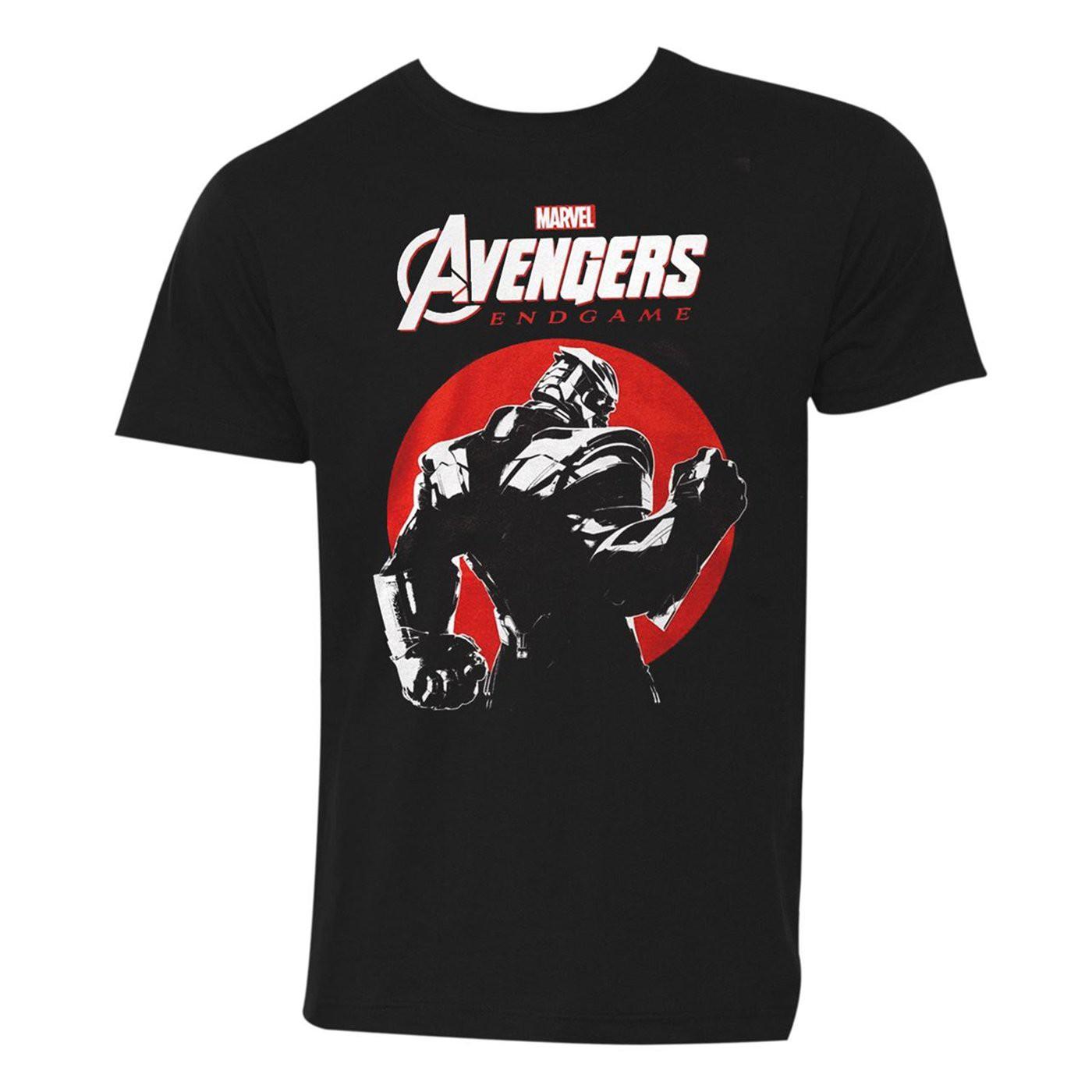 Avengers Endgame Thanos Sunset Men's T-Shirt