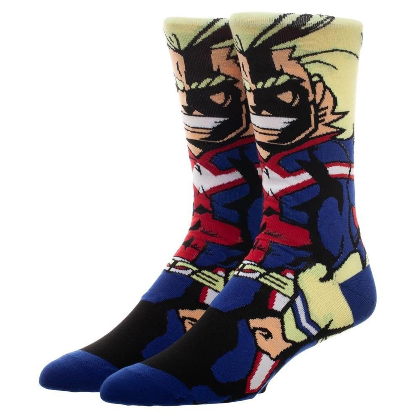 My Hero Academia All Might 360 Character Sock