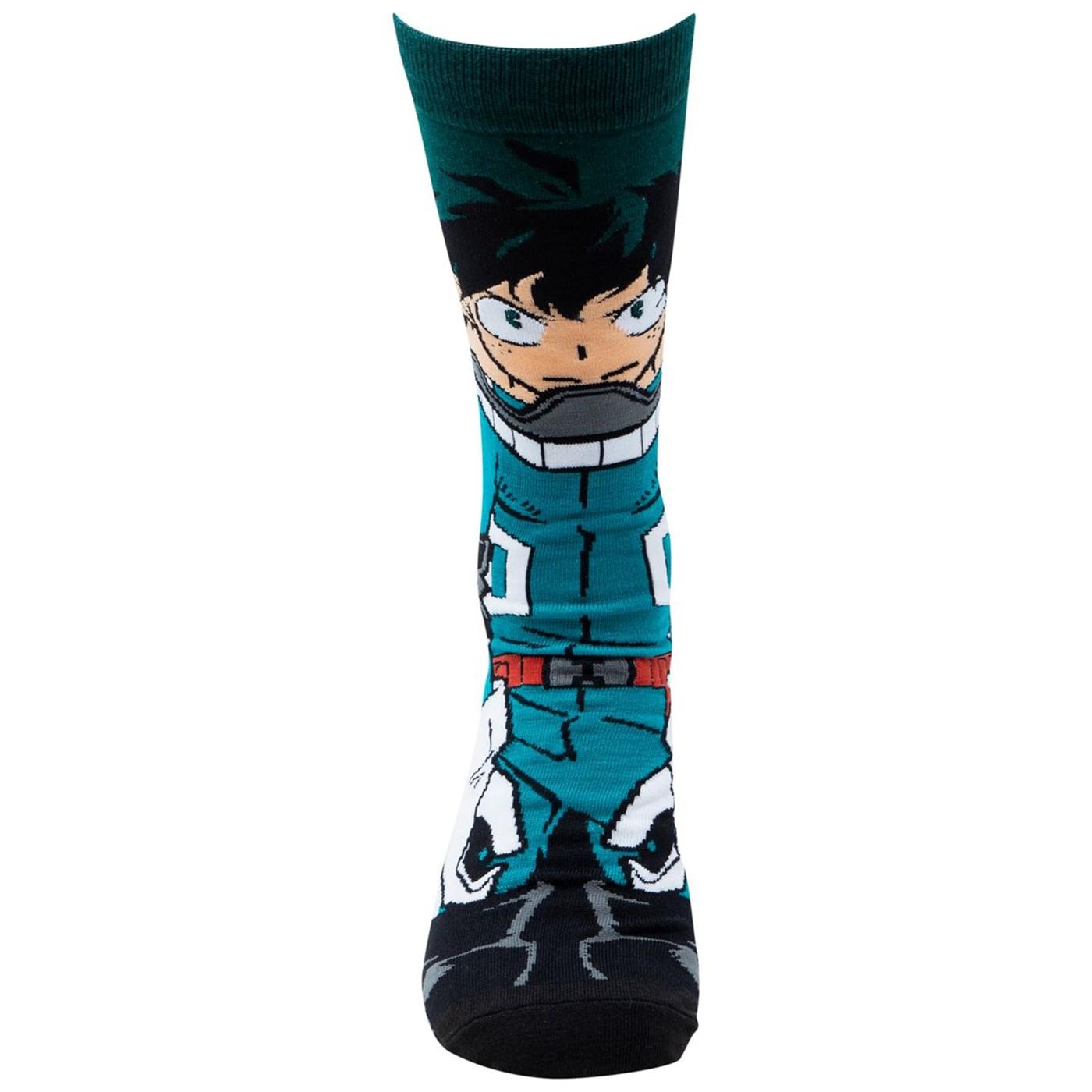 My Hero Academia Izuku 360 Character Socks