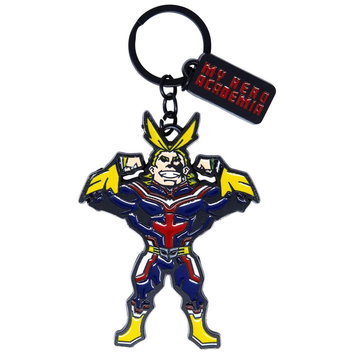 My Hero Acadamia Enamel Filled Keychain