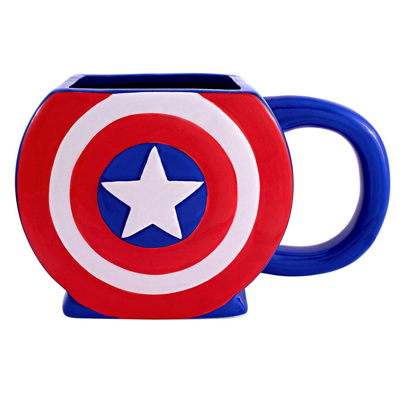 Captain America 3D Shield Mug