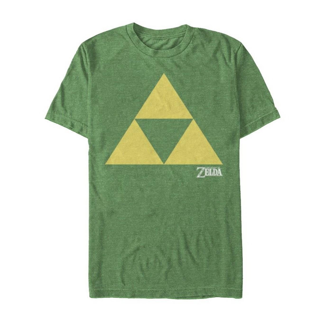 Zelda Triforce Green T-Shirt