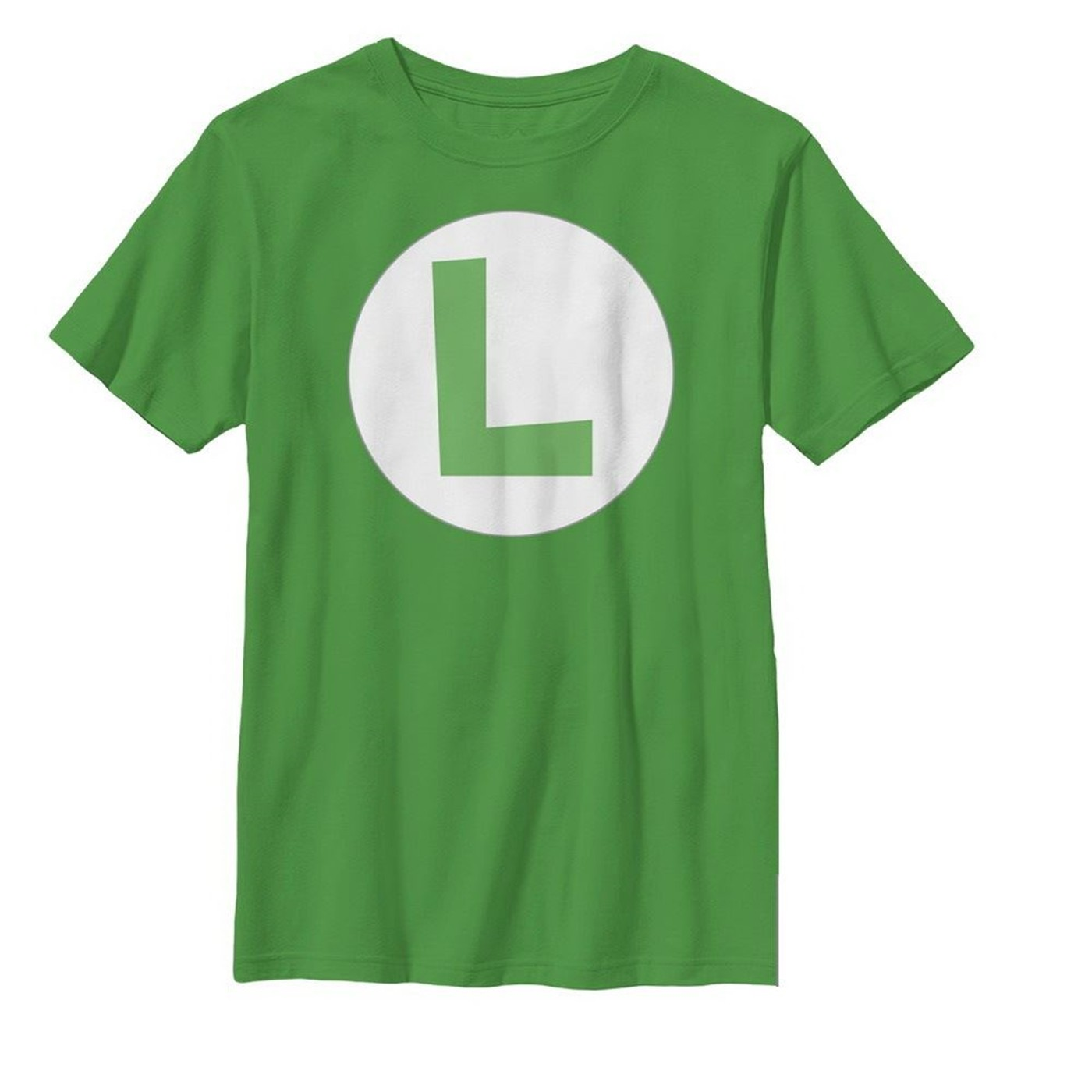 Luigi Symbol Kids T-Shirt