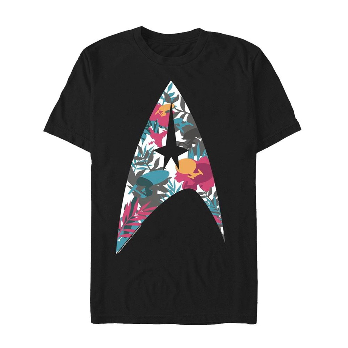 Star Trek Tropical Starfleet Insignia Men's T-Shirt
