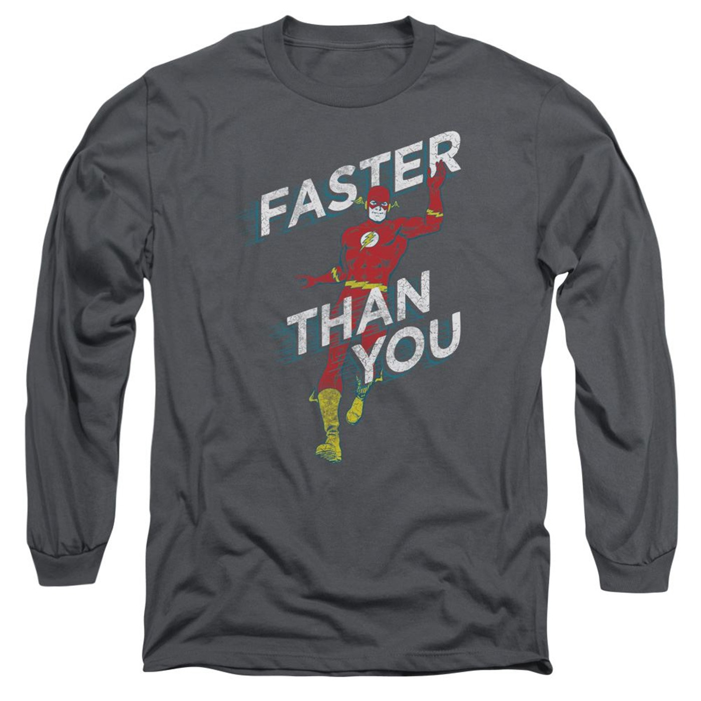 Faster Than You Flash Men's Long Sleeve