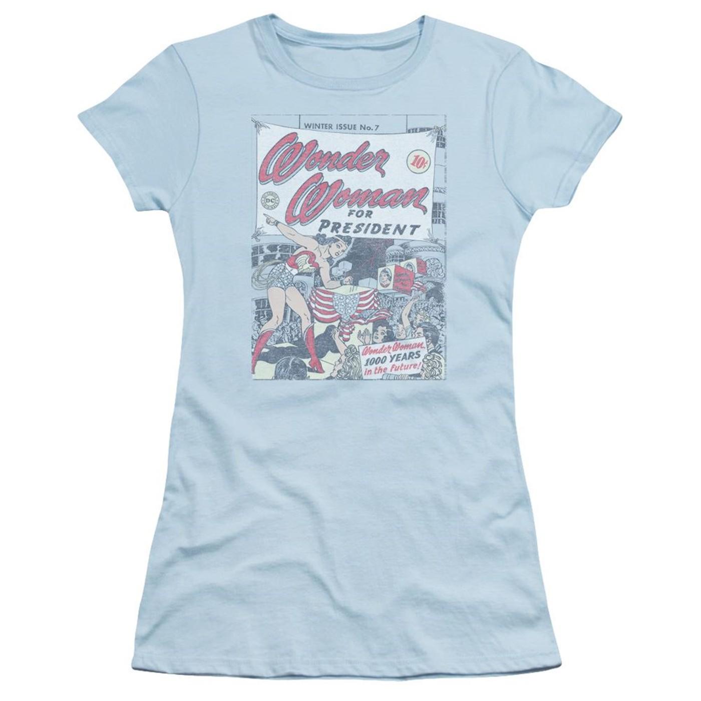 Wonder Woman for President Women's T-Shirt