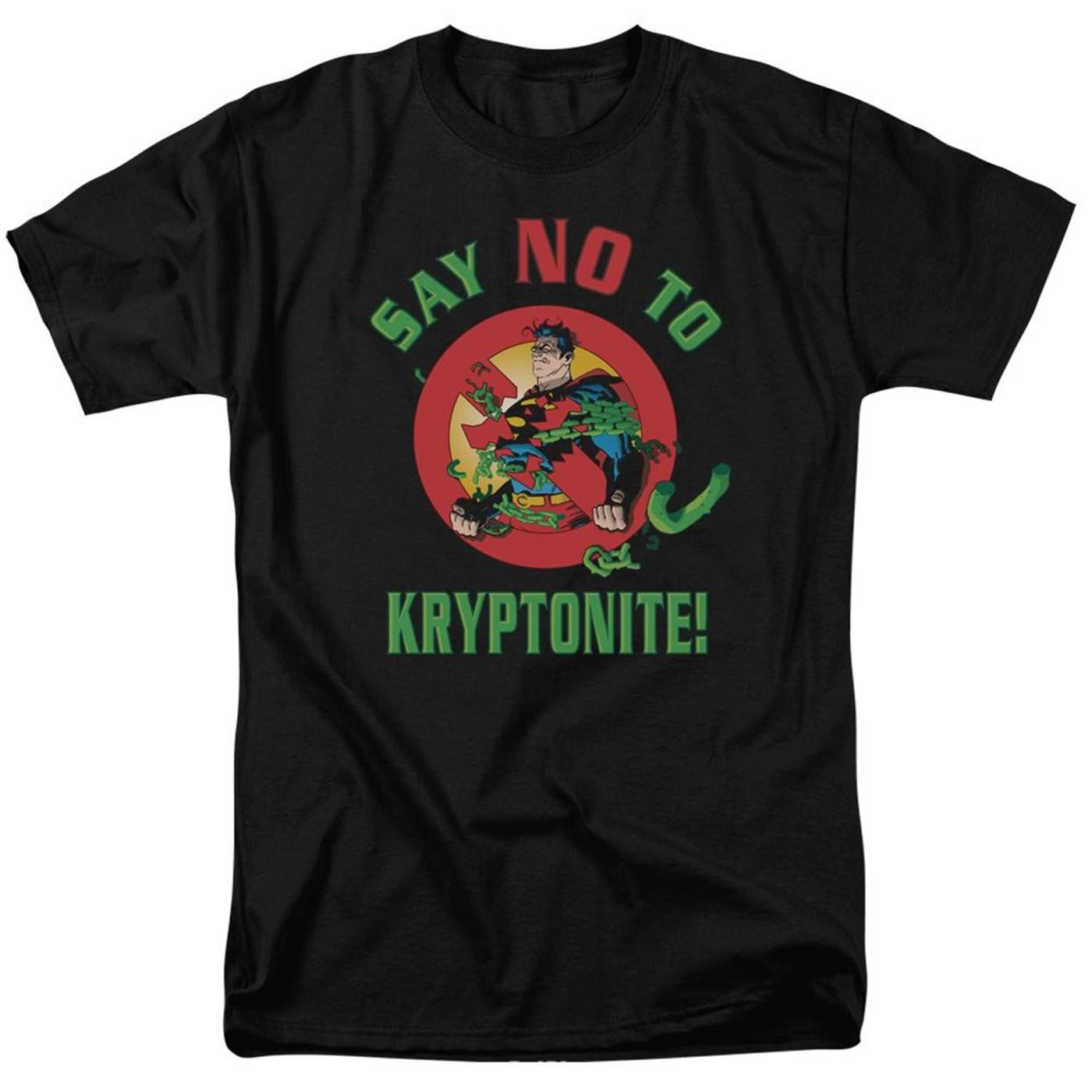 Superman Say NO to Kryptonite Men's T-Shirt