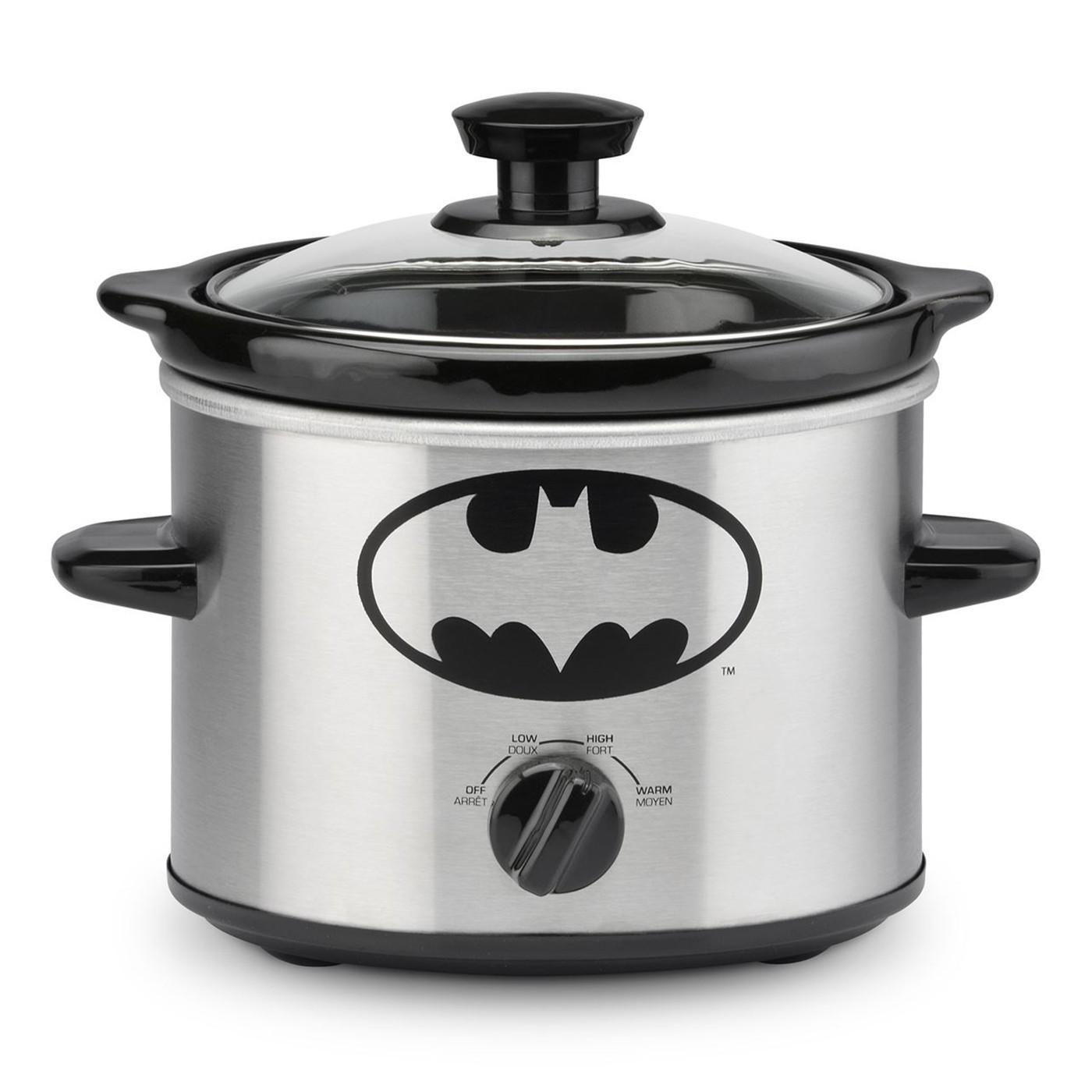 Batman 2-Quart Slow Cooker