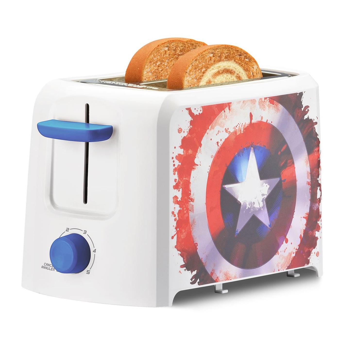 Captain America 2-Slice Toaster