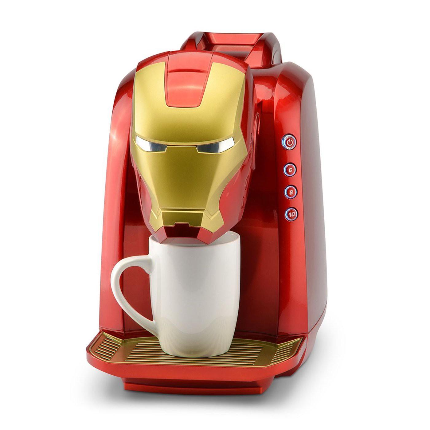 Iron Man Single Serve Coffee Maker