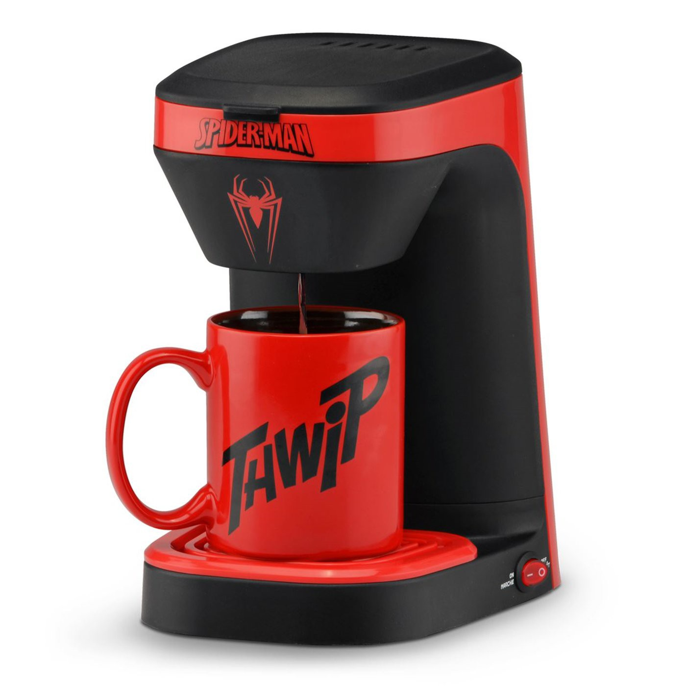 Spider-Man 1-Cup Coffee Maker with Mug