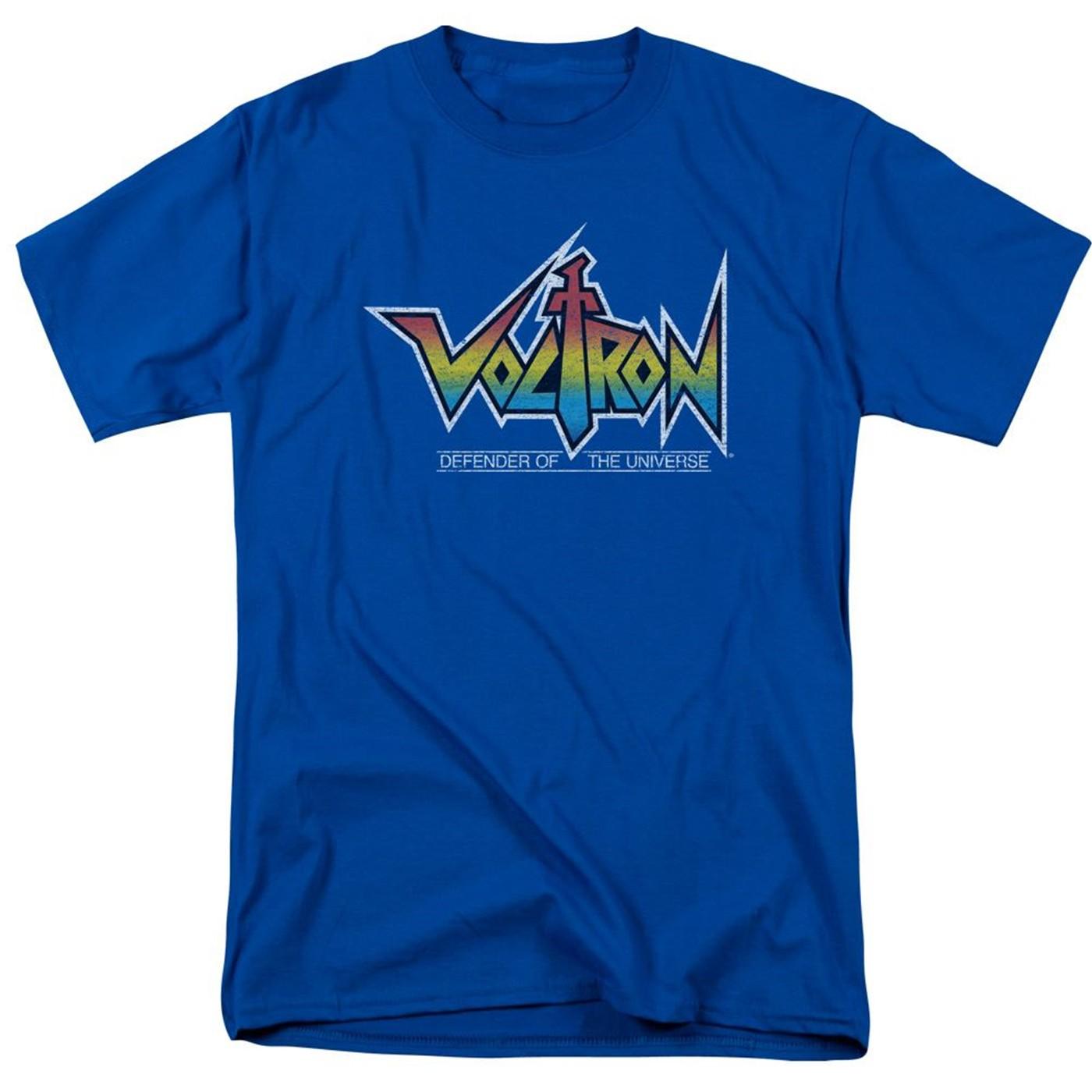 Voltron Logo Blue Men's T-Shirt
