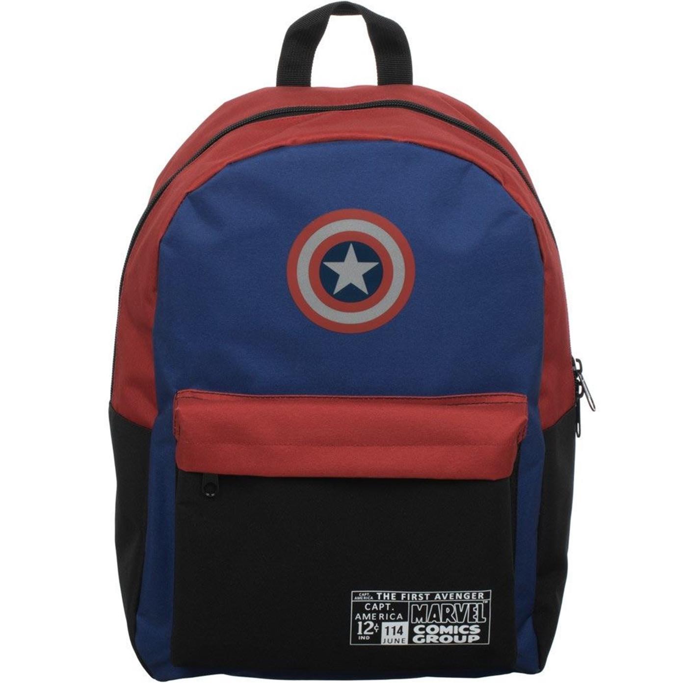 Marvel Color Block Print Backpack