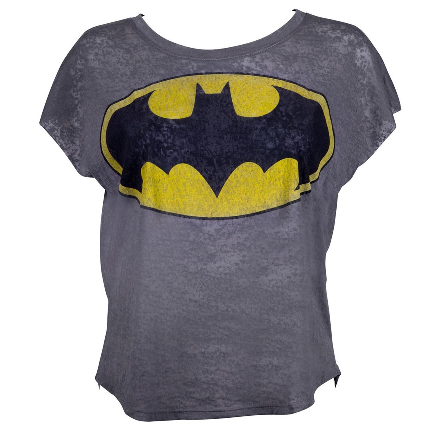 Batman Boxy Sleeveless Women's T-Shirt