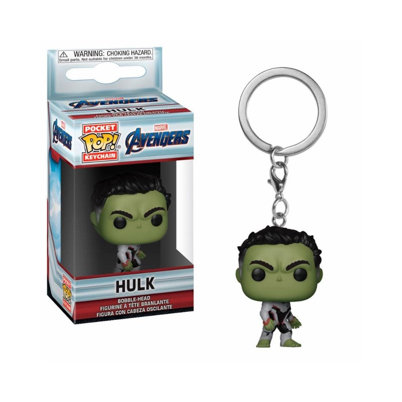 Funko POP Keychains: Marvel Avengers Endgame - Hulk