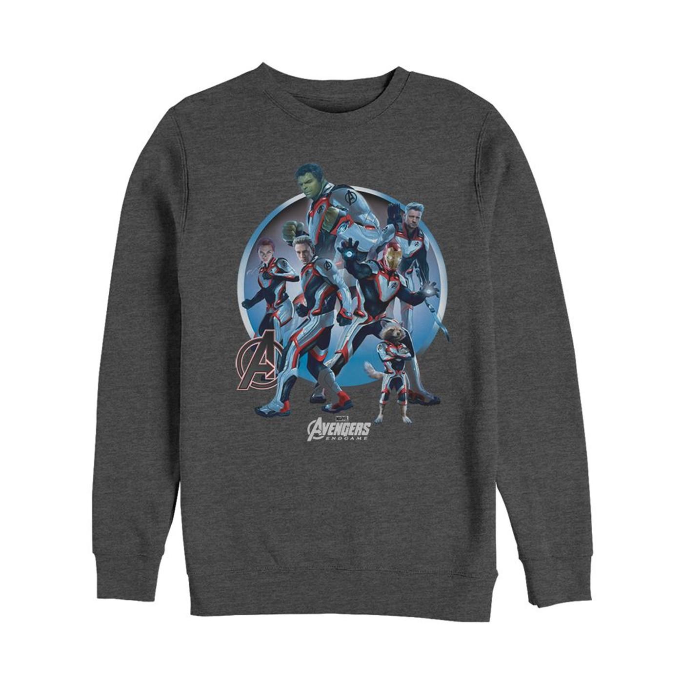 Avengers Endgame Unite Crewneck Sweater