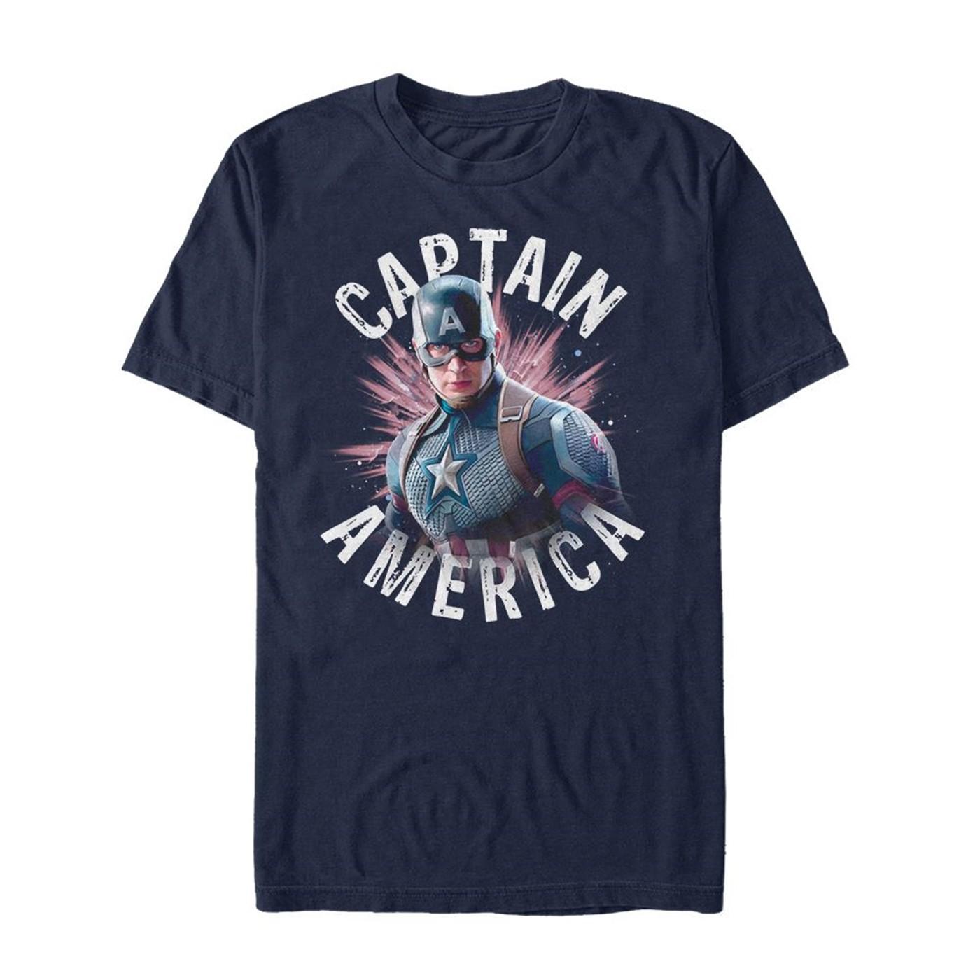 Marvel Avengers Logo T Shirt Infinity War Endgame Captain America Men Youth Kids
