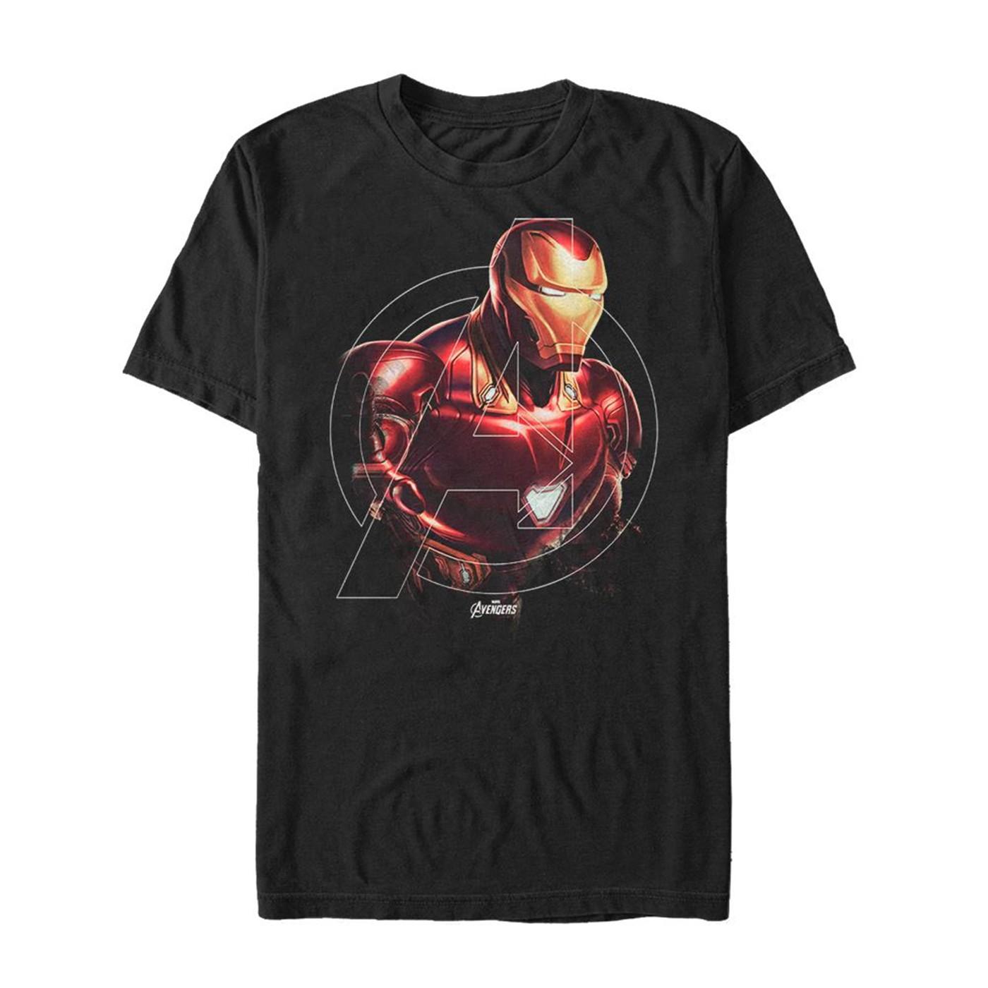 Avenger Endgame Iron Man Iron Hero Men's T-Shirt