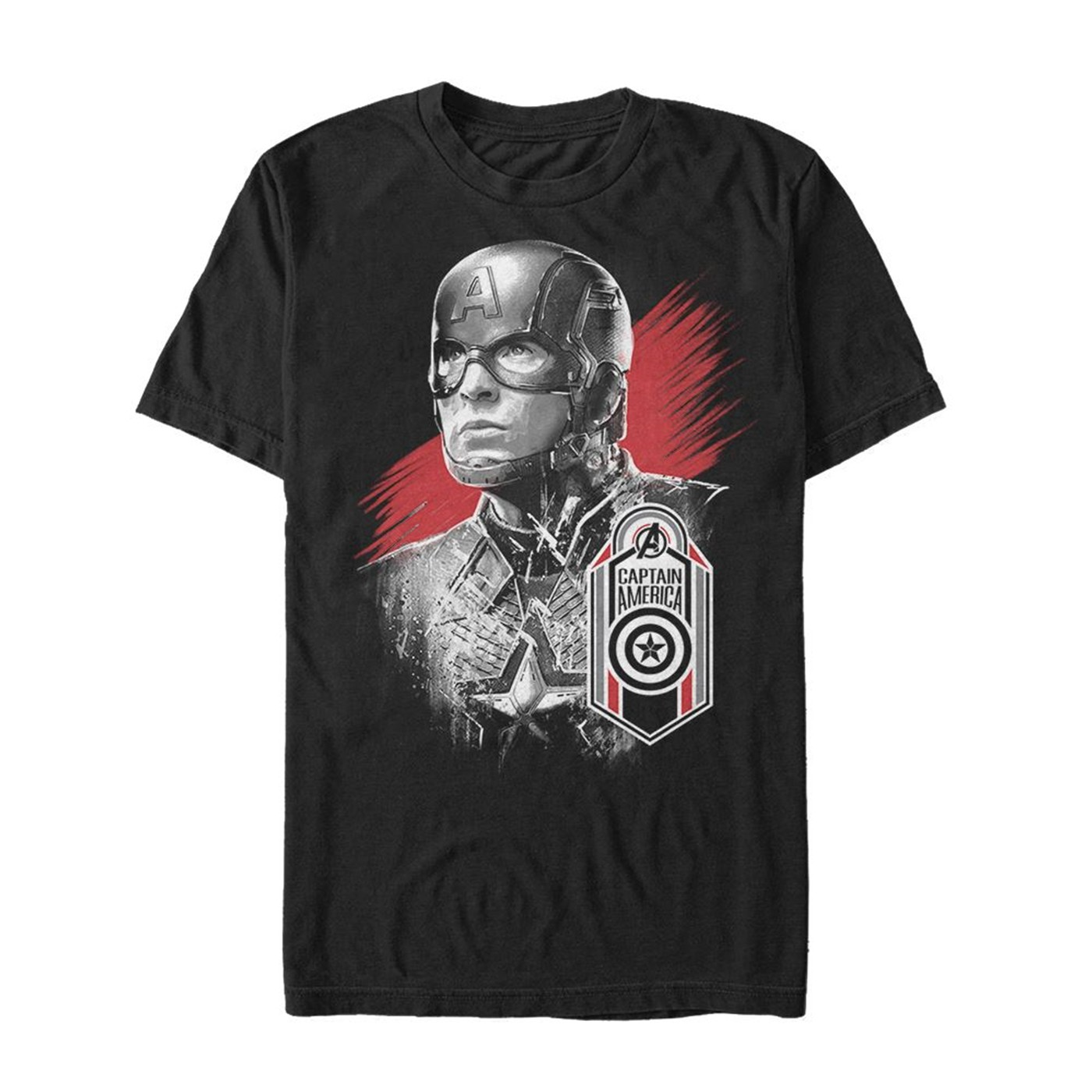 Avengers Endgame Captain America Hero Badge Men's T-Shirt