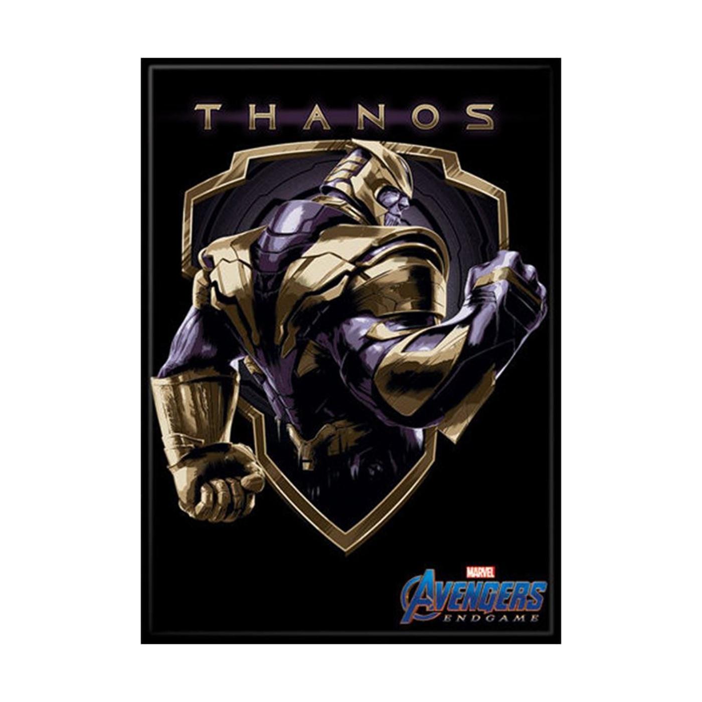 Avengers Endgame Thanos Warrior Badge Magnet