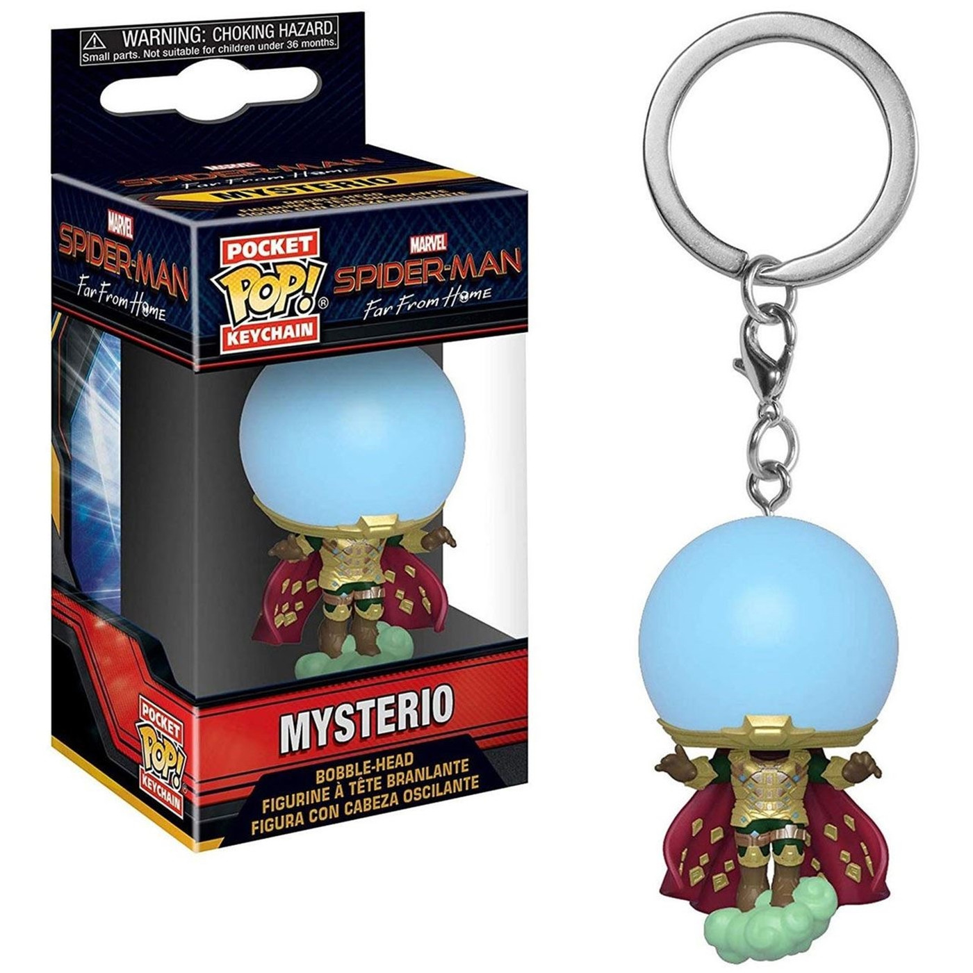 Funko Pop! Keychain: Spider-man: Far From Home - Mysterio