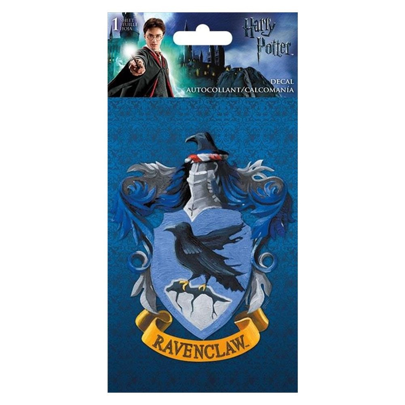 Harry Potter - Ravenclaw 4-Color Decal - 4 x 8