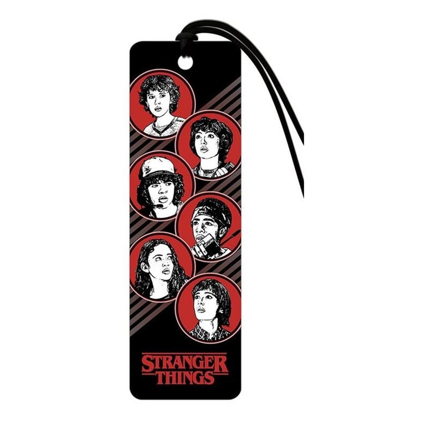 Stranger Things - Group Premier Bookmark