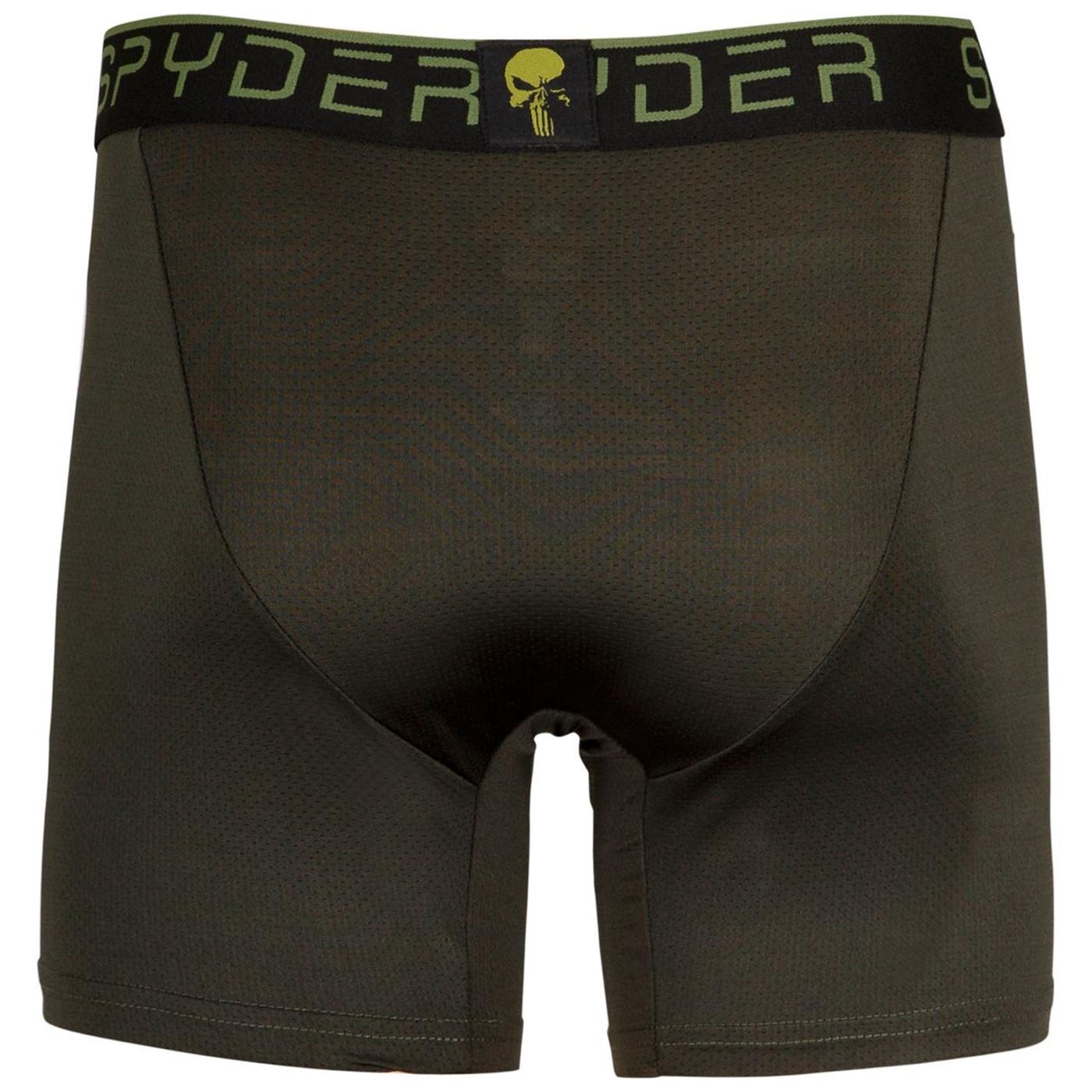 Punisher Spyder Performance Sports Boxer Briefs 3-Pair Pack