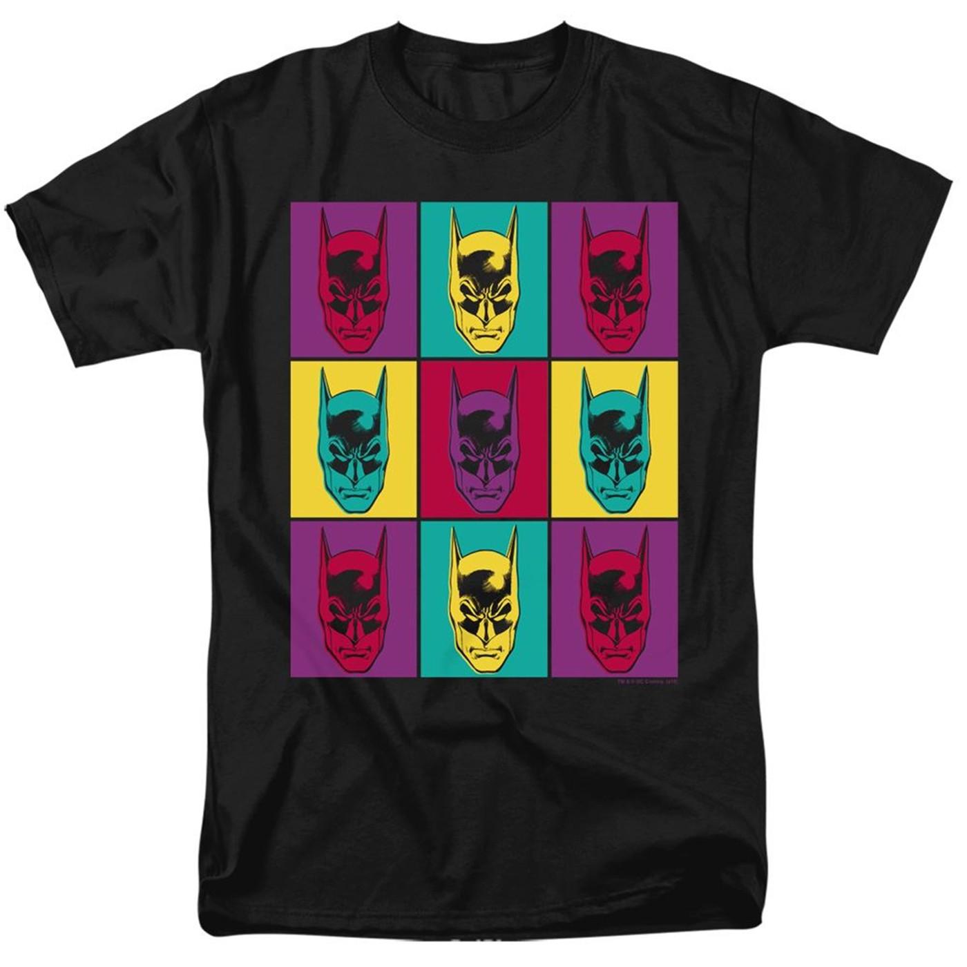 Batman 80th Warhol Panels Men's T-Shirt