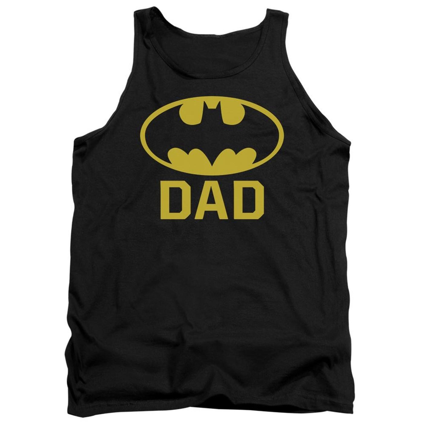 Bat Dad Batman Tank Top