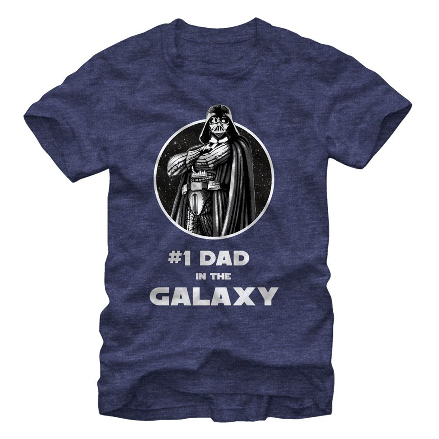 Darth Vader Number One Dad In the Galaxy Men's T-Shirt