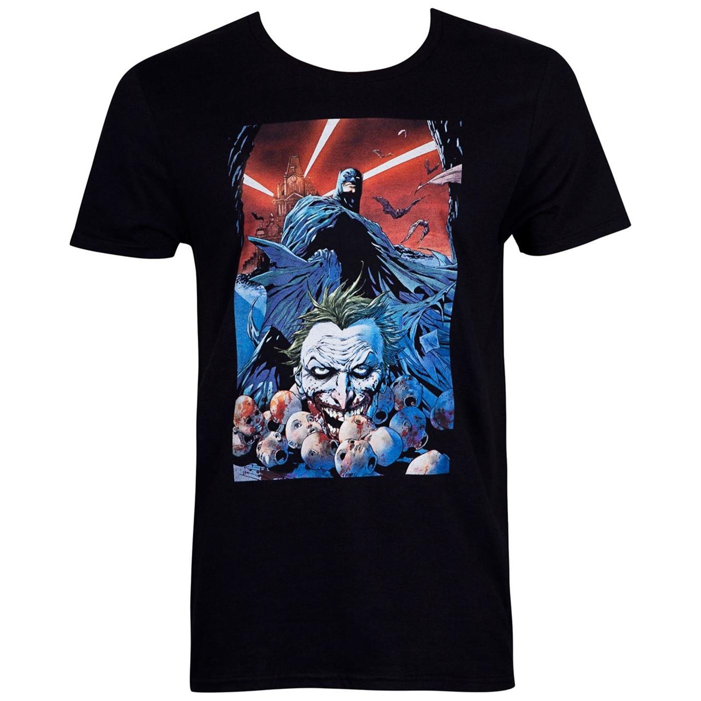 Batman Face of Death Comic Cover Men's T-Shirt