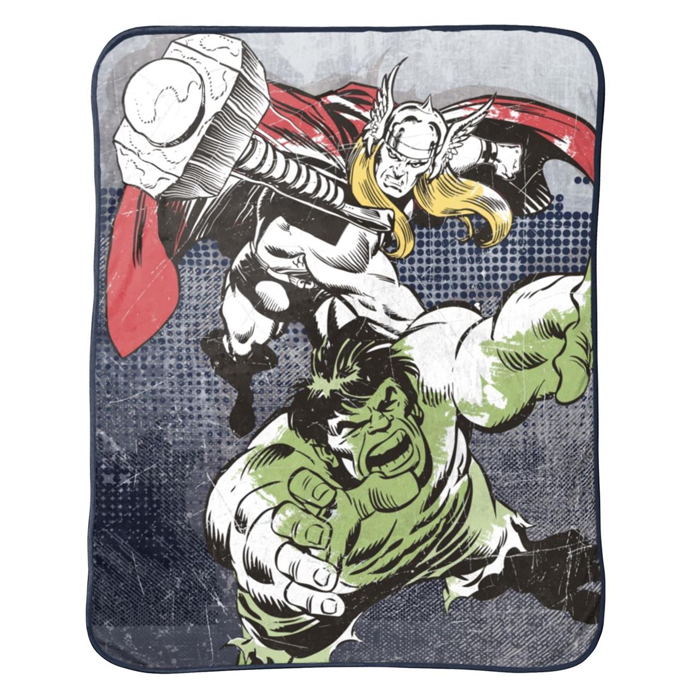 Thor and Hulk Throw