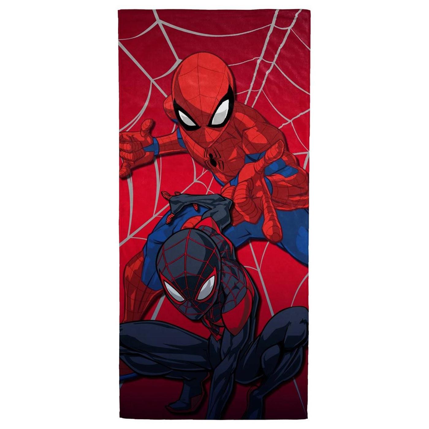 Spider-Man Team Beach Towel