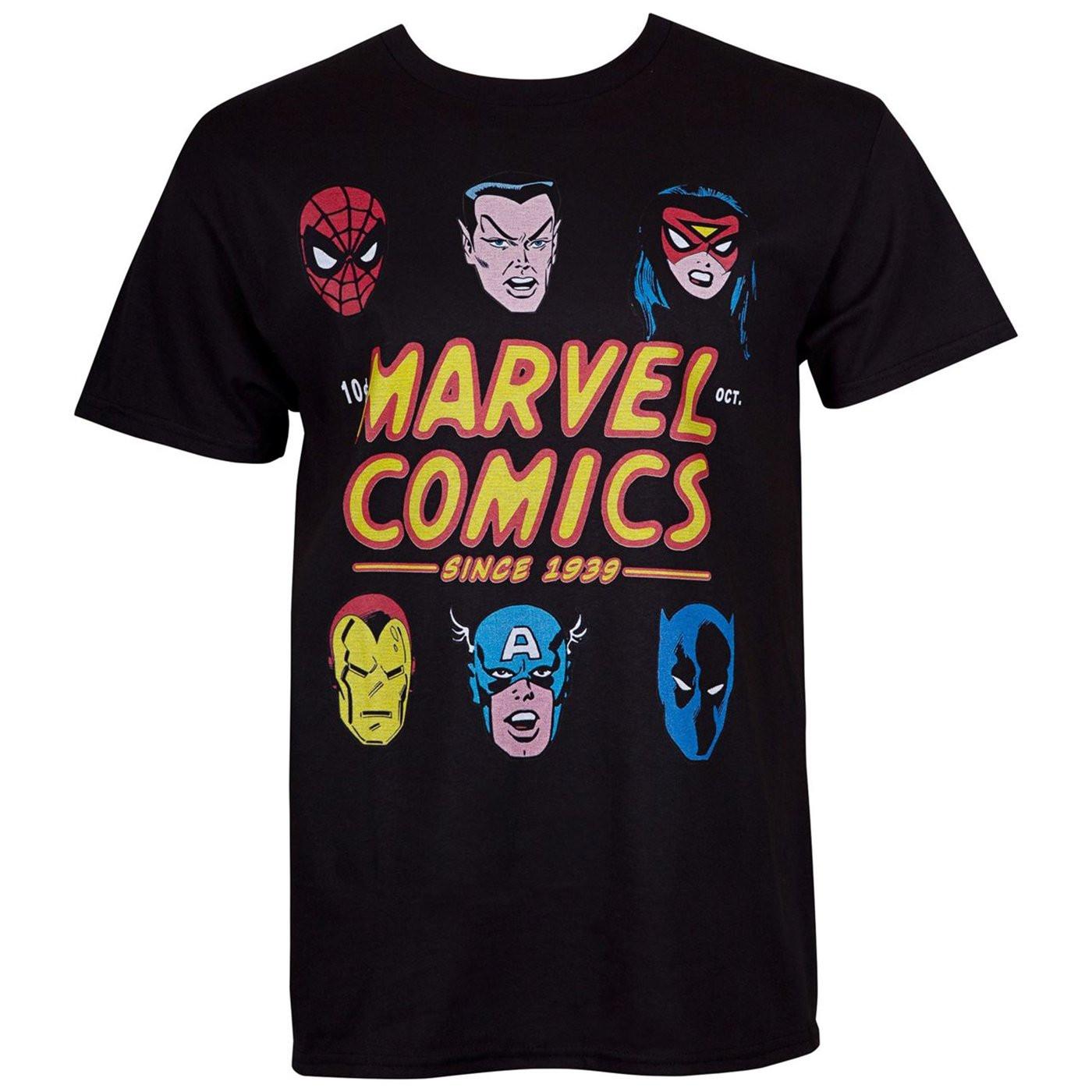 Marvel Comics 80th Anniversary Men's T-Shirt