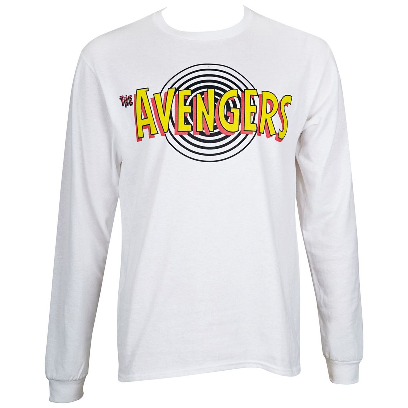 Avengers Classic Marvel Masterworks White Long Sleeve Shirt