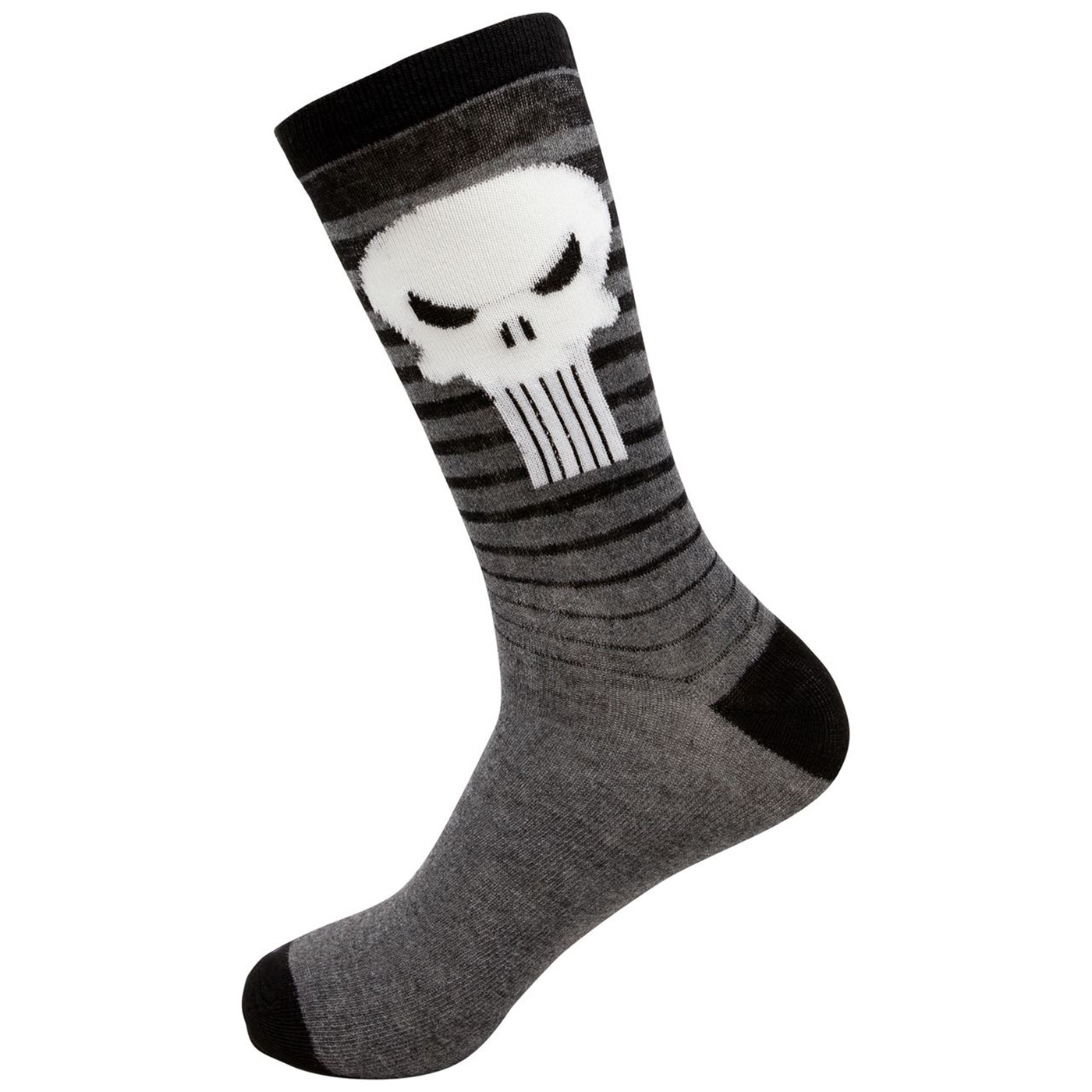 Punisher Gradient and Symbols and Sights Men's 2-Pack Crew Socks